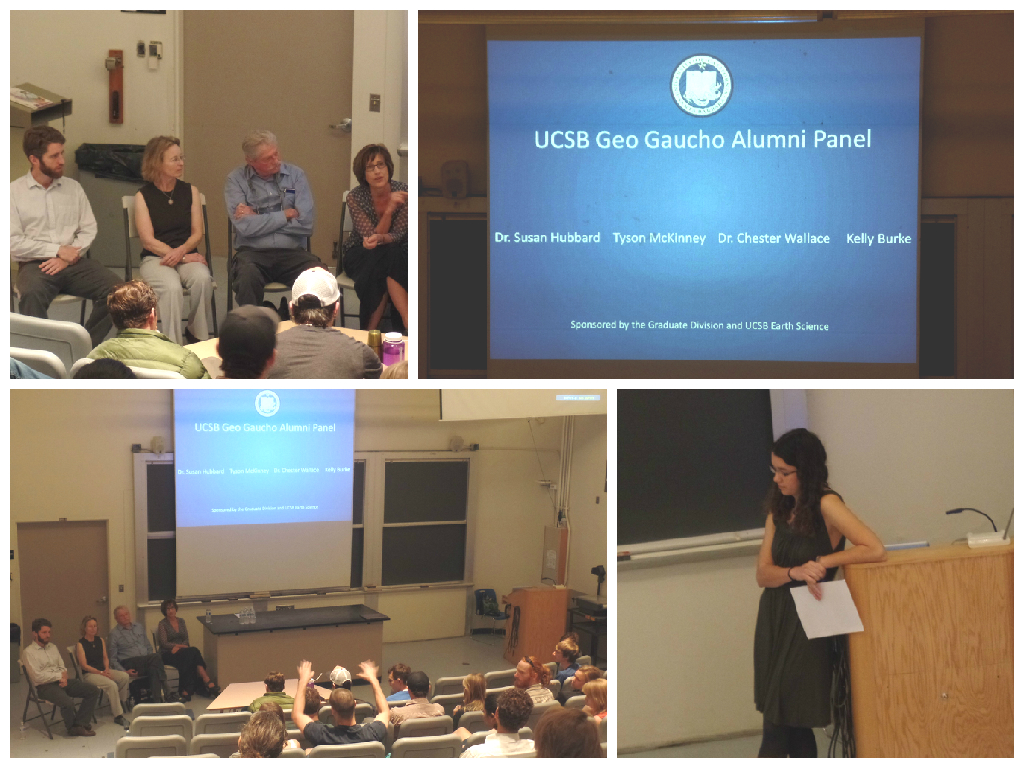 Alumni Career Panel 2015