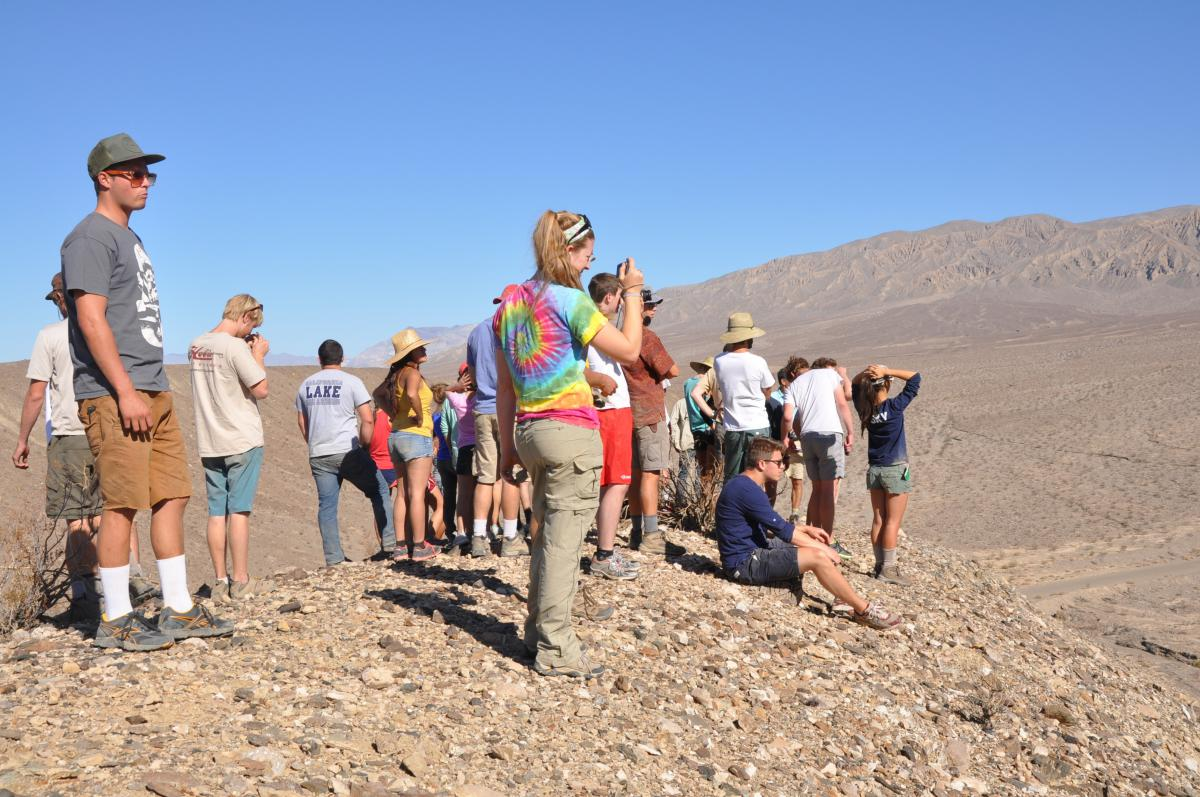 Earth 18 field trip to Death Valley Fall 2012