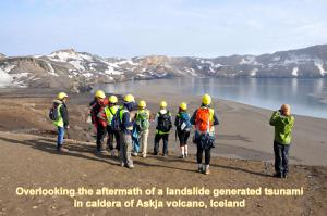 Iceland post-tsunami