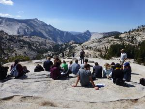 Led by Dr. Doug Burbank, this course spent 10 days in the Eastern Sierra, with a jaunt over the Tioga Pass and into Yosemite.