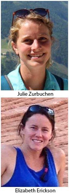 Julie Zurbuchen and Elizabeth Erickson